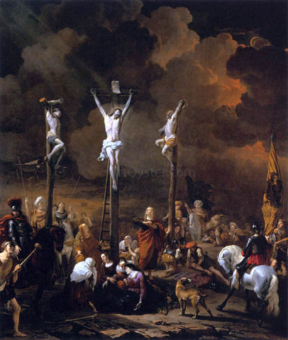 Karel Dujardin Calvary - Hand Painted Oil Painting