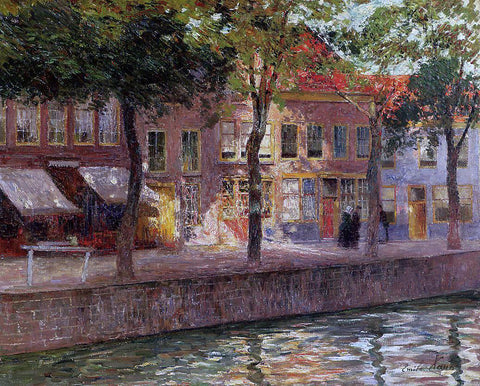 Emile Claus Canal in Zeeland - Hand Painted Oil Painting