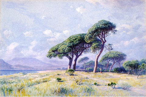William Stanley Haseltine Cannes - Hand Painted Oil Painting