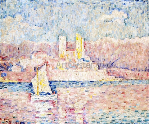 Paul Signac Cap d'Antibes - Hand Painted Oil Painting
