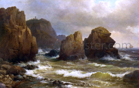 Wilhem Melby Cape Cullen, Norway - Hand Painted Oil Painting