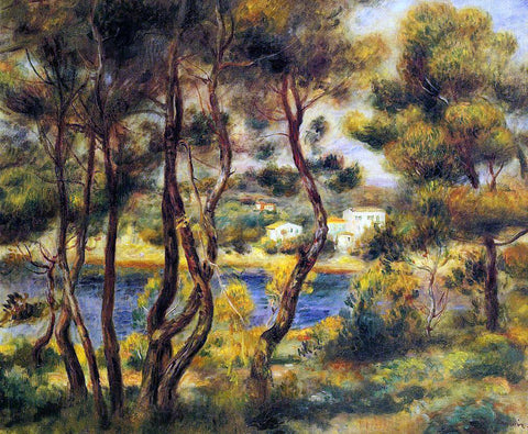 Pierre Auguste Renoir Cape Saint-Jean - Hand Painted Oil Painting