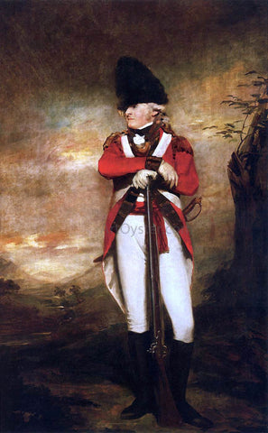 Sir Henry Raeburn Captain Hay of Spot - Hand Painted Oil Painting