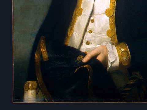 Lemuel Francis Abbott Captain Robert Calder [detail:2] - Hand Painted Oil Painting