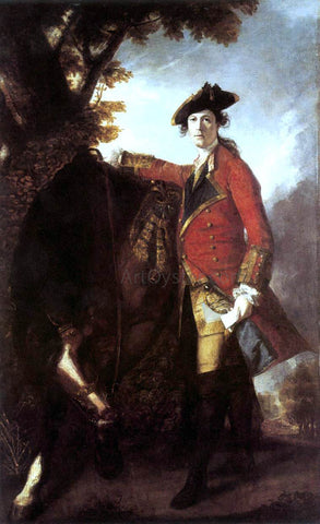 Sir Joshua Reynolds Captain Robert Orme - Hand Painted Oil Painting