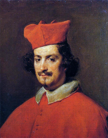 Diego Velazquez Cardinal Camillo Astalli - Hand Painted Oil Painting
