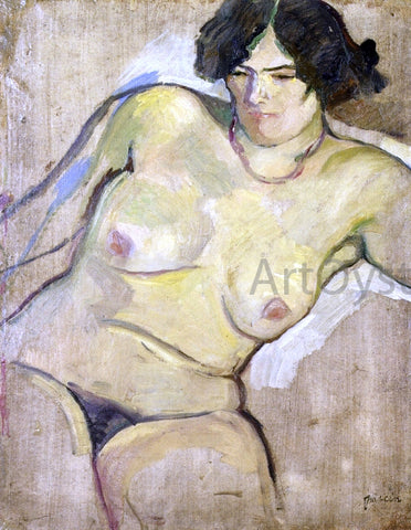 Jules Pascin Carmen - Hand Painted Oil Painting
