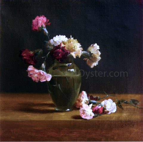 Charles Ethan Porter Carnations - Hand Painted Oil Painting