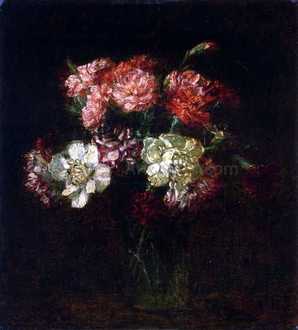 Henri Fantin-Latour Carnations - Hand Painted Oil Painting