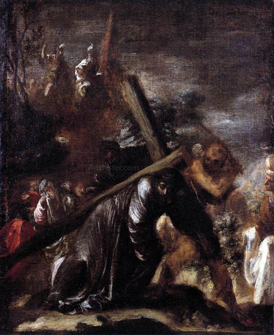 Juan De Valdes Leal Carrying the Cross - Hand Painted Oil Painting