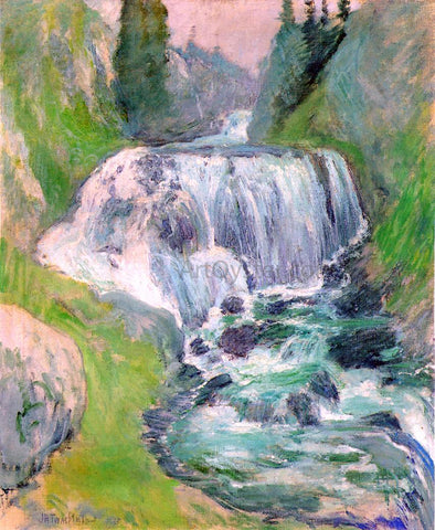 John Twachtman Cascades - Hand Painted Oil Painting