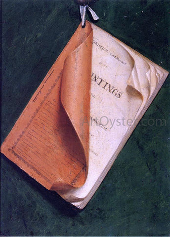 Margaretta Angelica Peale Catalogue: A Deception (after Raphaelle Peale) - Hand Painted Oil Painting