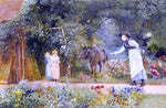 Edward Killingworth Johnson Catching the Pony - Hand Painted Oil Painting
