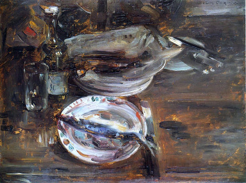 Lovis Corinth Cat's Breakfast - Hand Painted Oil Painting
