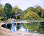Frederick Childe Hassam Central Park - Hand Painted Oil Painting