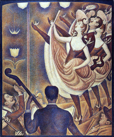 Georges Seurat Chahut - Hand Painted Oil Painting