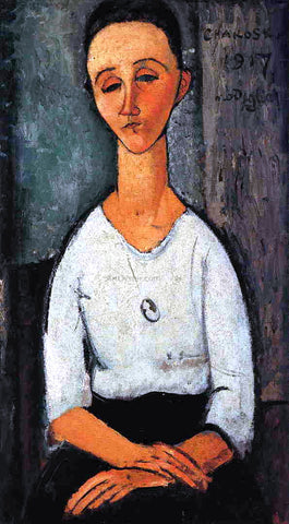 Amedeo Modigliani Chakoska - Hand Painted Oil Painting