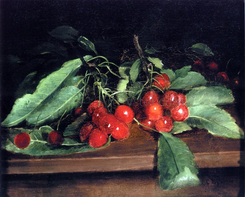 Charles Ethan Porter Cherries - Hand Painted Oil Painting