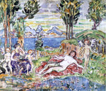 Maurice Prendergast Cherubs - Hand Painted Oil Painting