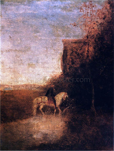 Albert Pinkham Ryder Childe Harold's Pilgrimage - Hand Painted Oil Painting