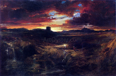 Thomas Moran Childe Roland to the Dark Tower Came - Hand Painted Oil Painting