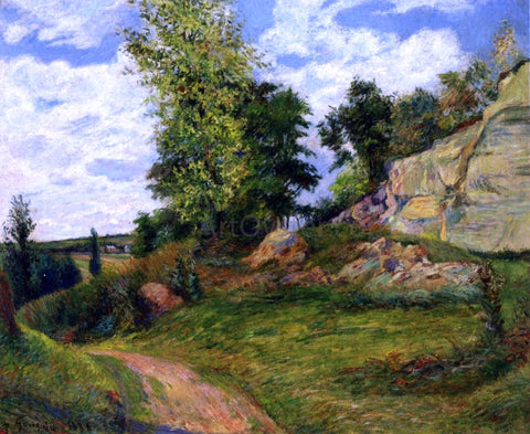 Paul Gauguin Chou Quarries at Pontoise - I - Hand Painted Oil Painting
