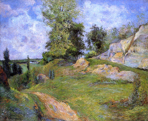 Paul Gauguin Chou Quarries at Pontoise - II - Hand Painted Oil Painting