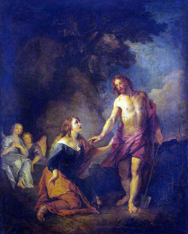 Charles De la Fosse Christ Appearing to Mary Magdalene - Hand Painted Oil Painting