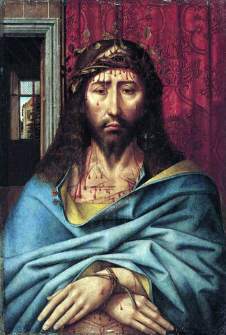 Colijn De Coter Christ as the Man of Sorrows - Hand Painted Oil Painting