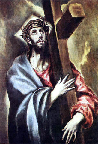 El Greco Christ Carrying the Cross - Hand Painted Oil Painting