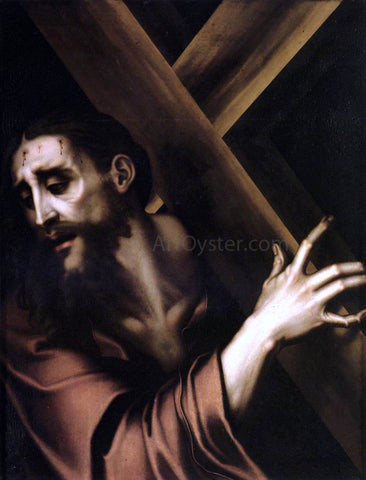 Luis De Morales Christ Carrying the Cross - Hand Painted Oil Painting