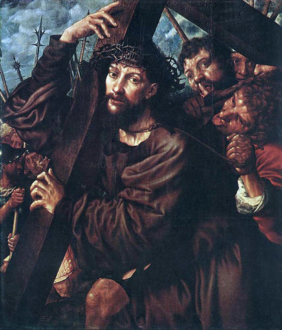 Jan Sanders Van Hemessen Christ Carrying the Cross - Hand Painted Oil Painting