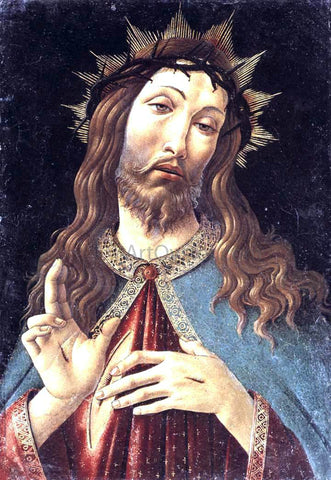 Sandro Botticelli Christ Crowned with Thorns - Hand Painted Oil Painting