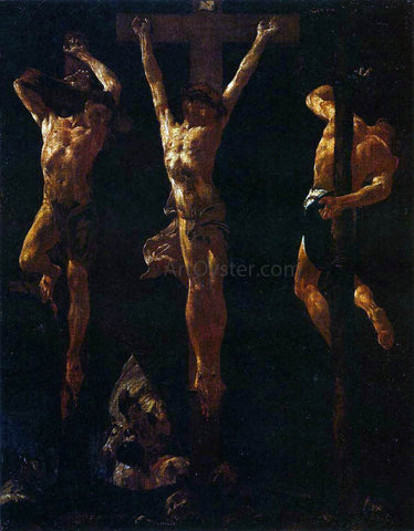 Giovanni Battista Piazzetta Christ Crucified Between the Two Thieves - Hand Painted Oil Painting