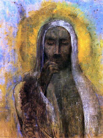 Odilon Redon Christ in Silence - Hand Painted Oil Painting