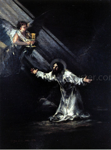 Francisco Jose de Goya Y Lucientes Christ on the Mount of Olives - Hand Painted Oil Painting