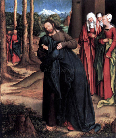 Bernhard Strigel Christ Taking Leave of His Mother - Hand Painted Oil Painting
