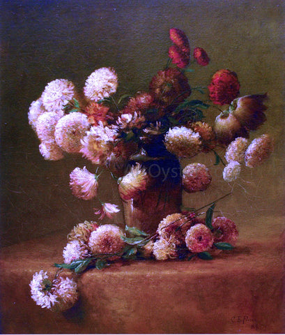 Charles Ethan Porter Chrysanthemums - Hand Painted Oil Painting