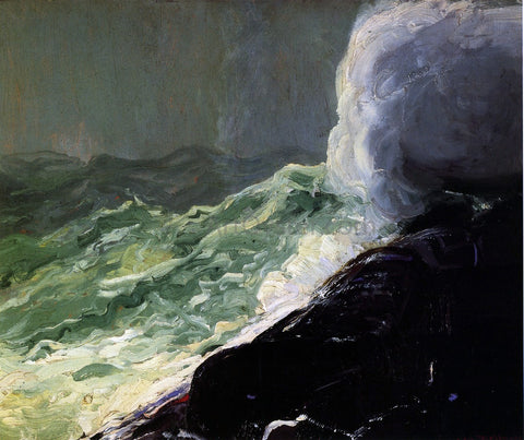 George Wesley Bellows Churn and Break - Hand Painted Oil Painting