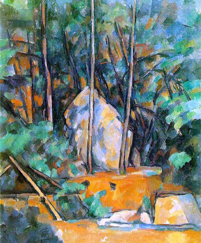 Paul Cezanne Cistern in the Park at Chateau Noir - Hand Painted Oil Painting