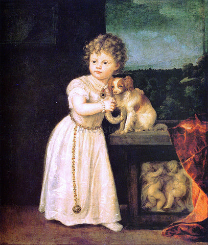 Titian Clarice Strozzi - Hand Painted Oil Painting