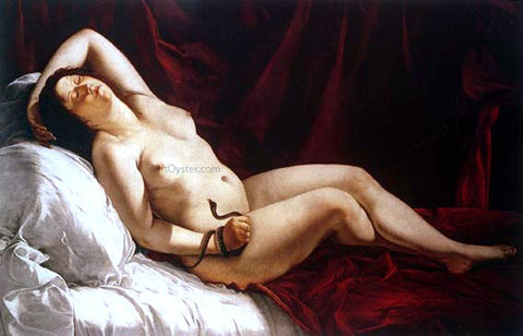 Orazio Gentileschi Cleopatra - Hand Painted Oil Painting