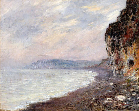Claude Oscar Monet Cliffs at Pourville in the Fog - Hand Painted Oil Painting