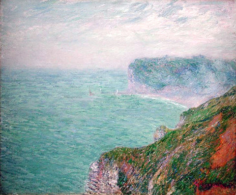 Gustave Loiseau Cliffs in Normandy - Hand Painted Oil Painting