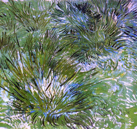 Vincent Van Gogh Clumps of Grass - Hand Painted Oil Painting