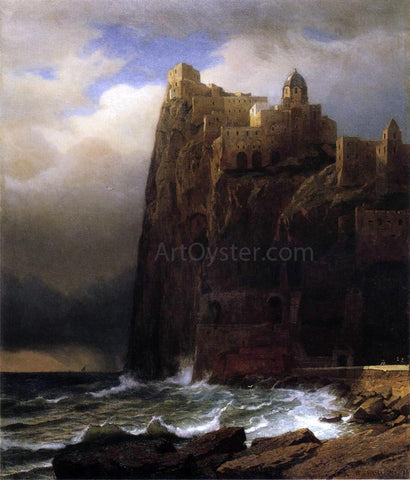 William Stanley Haseltine Coastal Cliffs - Hand Painted Oil Painting