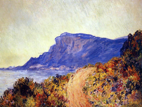 Claude Oscar Monet Coastal Road at Cap Martin, near Menton - Hand Painted Oil Painting