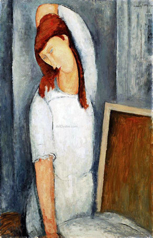 Amedeo Modigliani A Coffee - Hand Painted Oil Painting