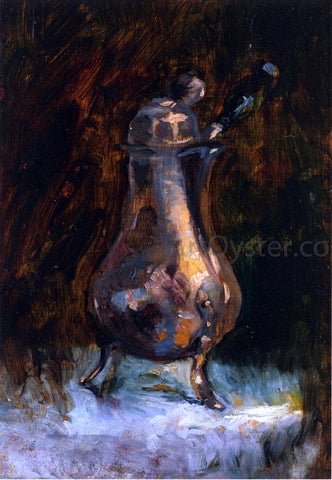 Henri De Toulouse-Lautrec Coffee Pot - Hand Painted Oil Painting