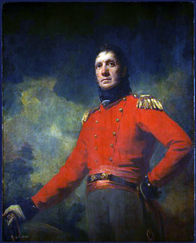 Sir Henry Raeburn Colonel Francis James Scott - Hand Painted Oil Painting